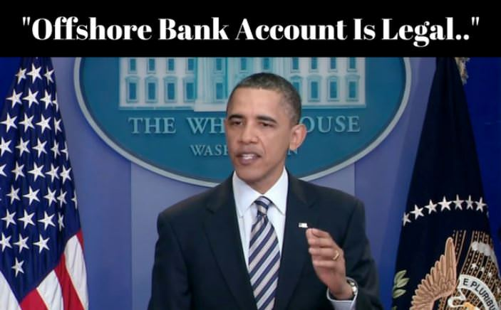 Offshore Bank Account is Legal